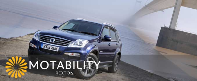 ssangyong-rexton-motability-payments