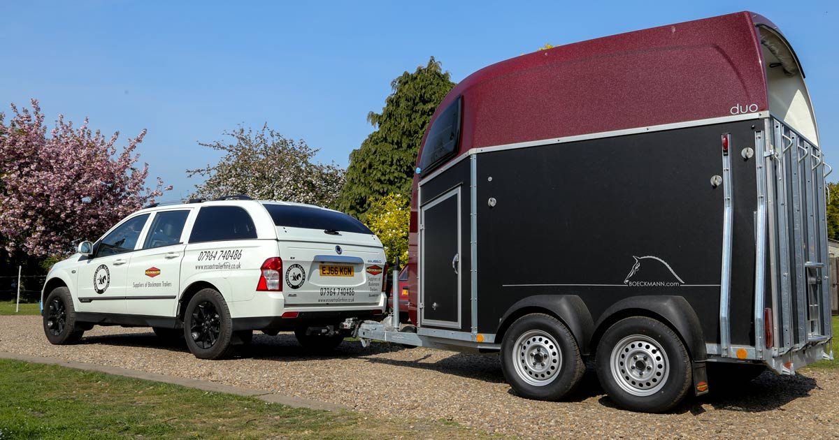 What horse trailers can you tow with your SsangYong ...