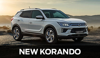 View New SsangYong Korando SUV