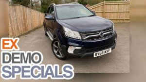 Save  £6005 on Delivery Mileage Korando ELX Diesel 4x4