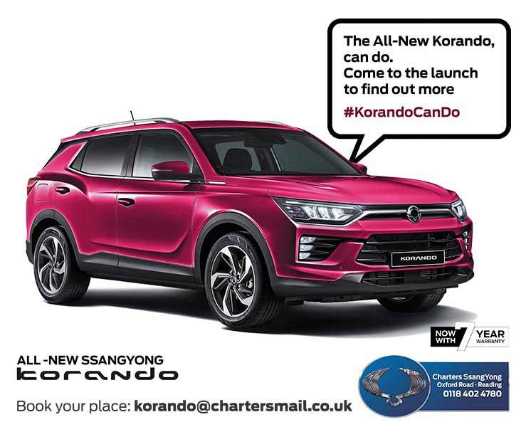 new-ssangyong-korando-launch-event-reading-berkshire-goo