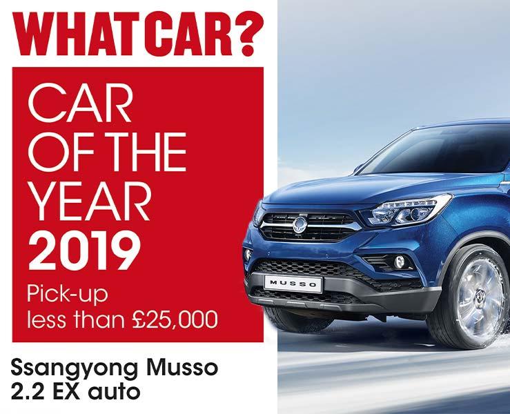 ssangyong-musso-wins-best-pickup-under 25000-goo