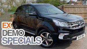 Save  £4000 on Ex Demonstrator Korando ELX Diesel 4x4