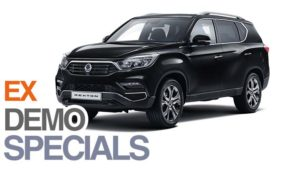 Save  £4605 on Ex Demonstrator Rexton Ultimate SUV