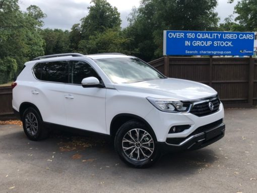 SsangYong Rexton 2.2D Ultimate T-Tronic 4WD 5dr (7 Seat)