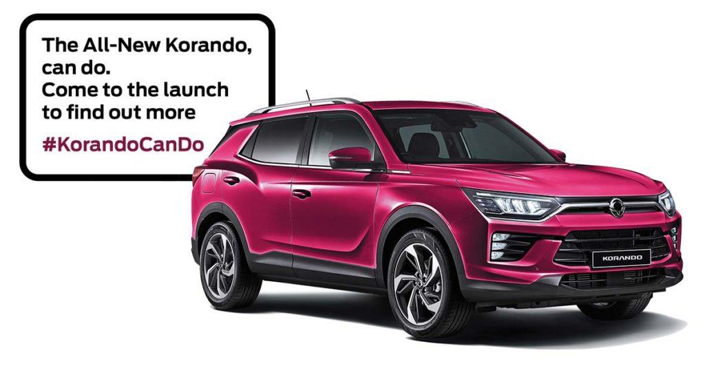 new-ssangyong-korando-launch-event-reading-berkshire-fba