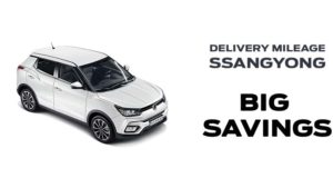 Save  £2500 on Delivery Mileage Tivoli Ultimate Automatic