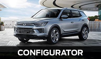 Configure your SsangYong