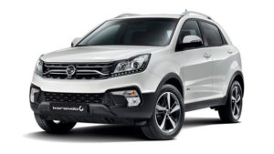 Outright Purchase | £25995 for a Korando Ultimate Auto 2WD