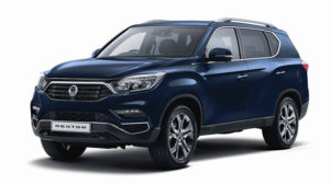 Outright Purchase | £38995 for a Rexton Ultimate Automatic 7 seater
