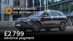 new-ssangyong-korando-on-motability-an