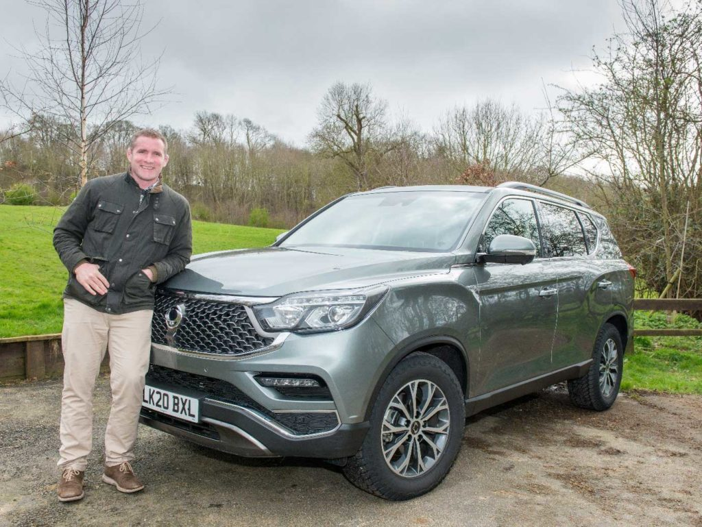 phil-vickery-standing-next-to-his-new-ssangyong-rexton-suv