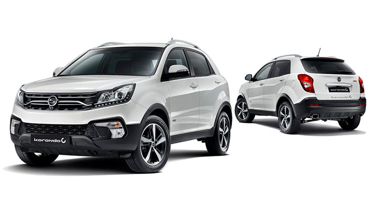 Outright Purchase   £23995 for a Korando ELX Diesel 4x4